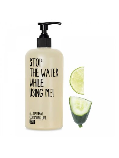 STOP THE WATER WHILE USING ME käsisaippua cucumber lime