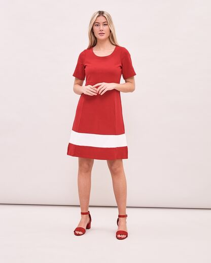NEWHOUSE Every Day Dress red