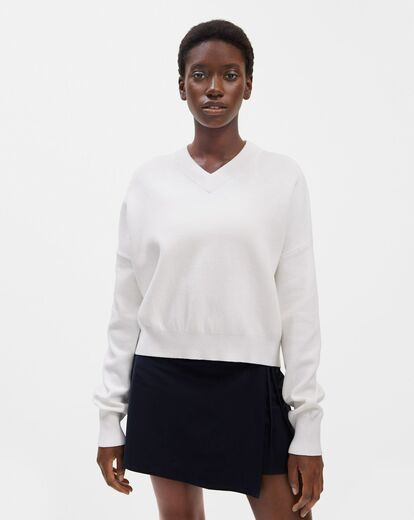 FILIPPA K Double Knit V-neck Sweater
