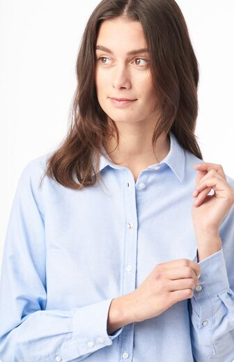 BOOMERANG Lilly Organic Oxford Shirt pale blue