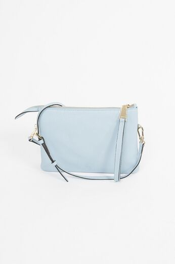 ABRO Cross Body Bag Threefold light blue