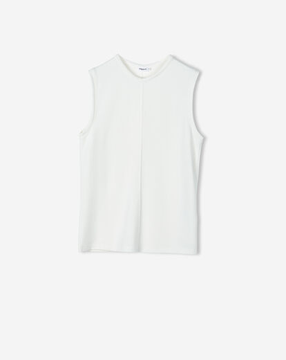 FILIPPA K Double Face Cocktail Top valkoinen