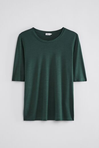 FILIPPA K Elena Tencel Tee green emerald