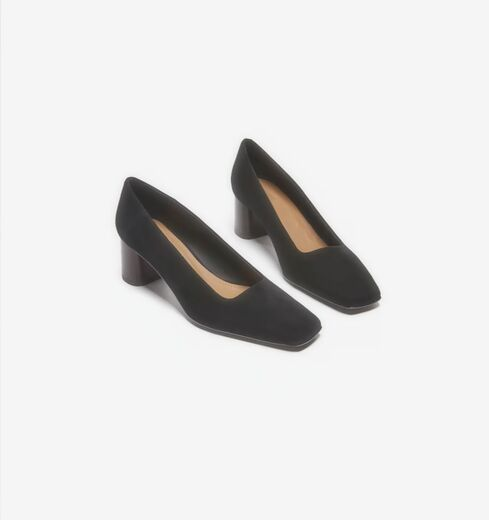 FLATTERED Mia Black Suede avokkaat