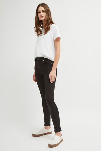 FRENCH CONNECTION Rebound Skinny Jeans musta