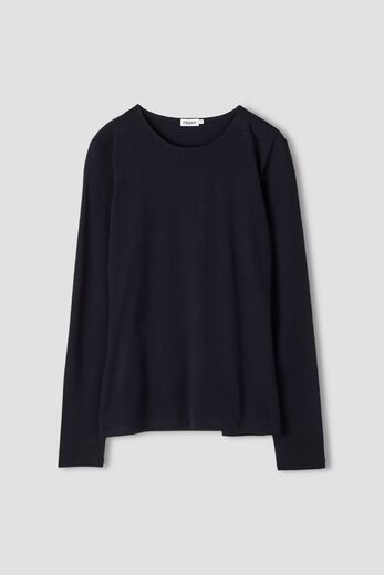FILIPPA K Cotton stretch long sleeve navy