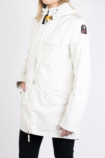 PARAJUMPERS Morgana Windbreaker Jacket white cream