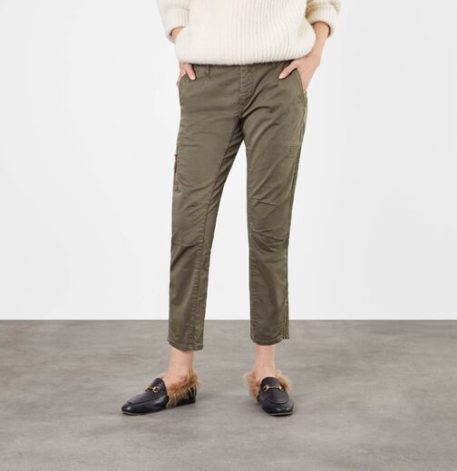 MAC Rich Cargo Cotton olive night