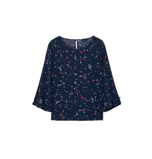 GANT Fall Leaves Printed Top