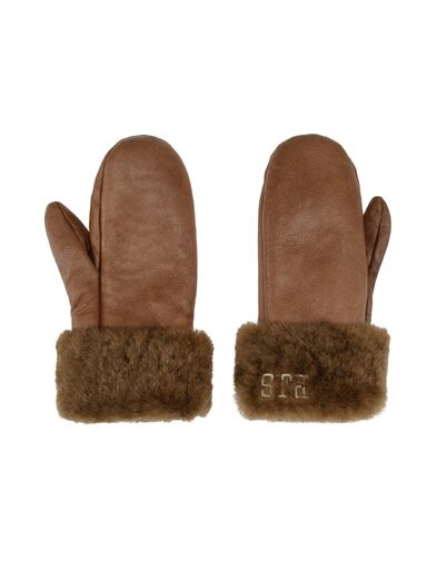 PARAJUMPERS Shearling Mittens Gloves
