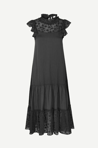 SAMSOE&SAMSOE Opala long dress black