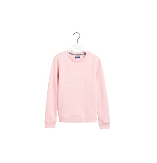 GANT Lock Up C-Neck Sweatshirt preppy pink