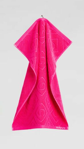GANT Organic G Towel love potion 50 x 70 cm