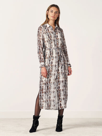 DANTE 6 Ludique Snake Print Dress