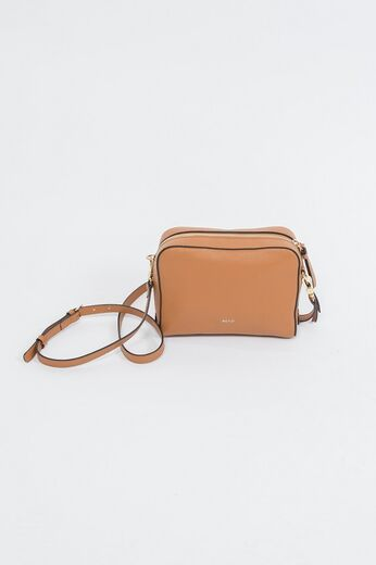 ABRO Cross Body Bag Boxy konjakki