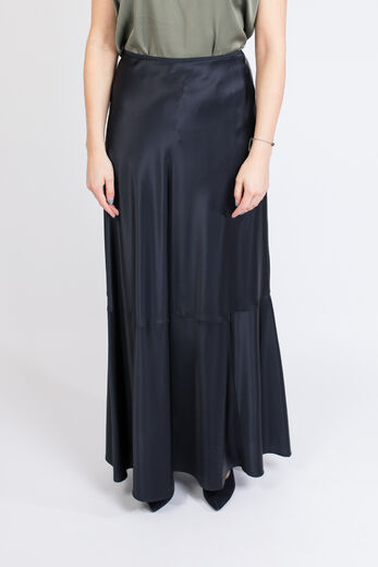 SAMSØE & SAMSØE Alsop Long Skirt night sky
