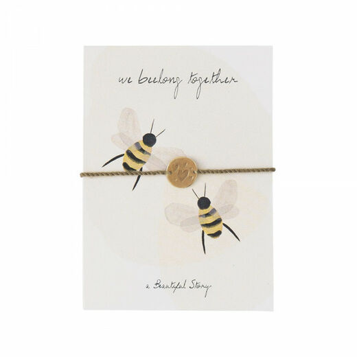 A BEAUTIFUL STORY Jewelry Postcard Bees